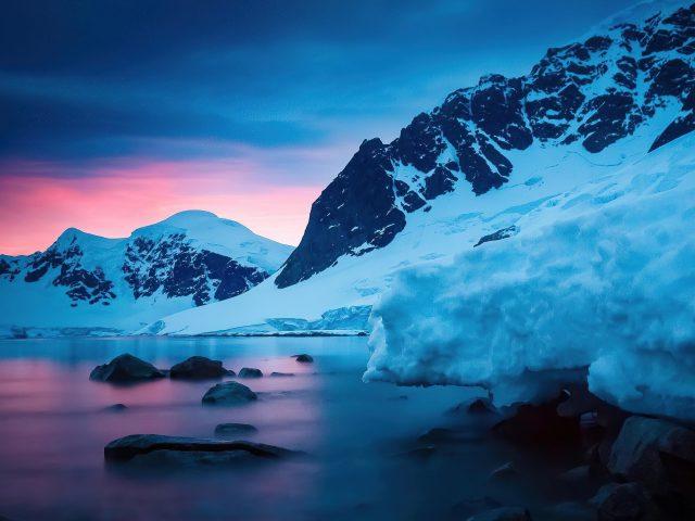 Закат солнца на острове рондж природа
