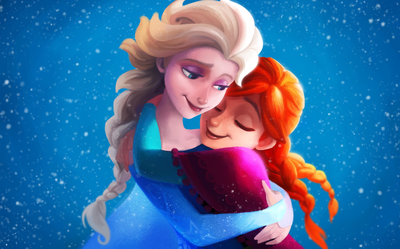 Замороженные сестры elsa Анна обои скачать