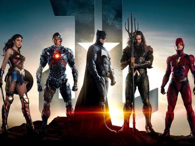 Justice league superheroes.