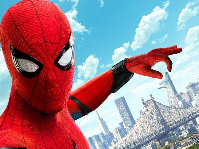 Человек-паук возвращение 8к.