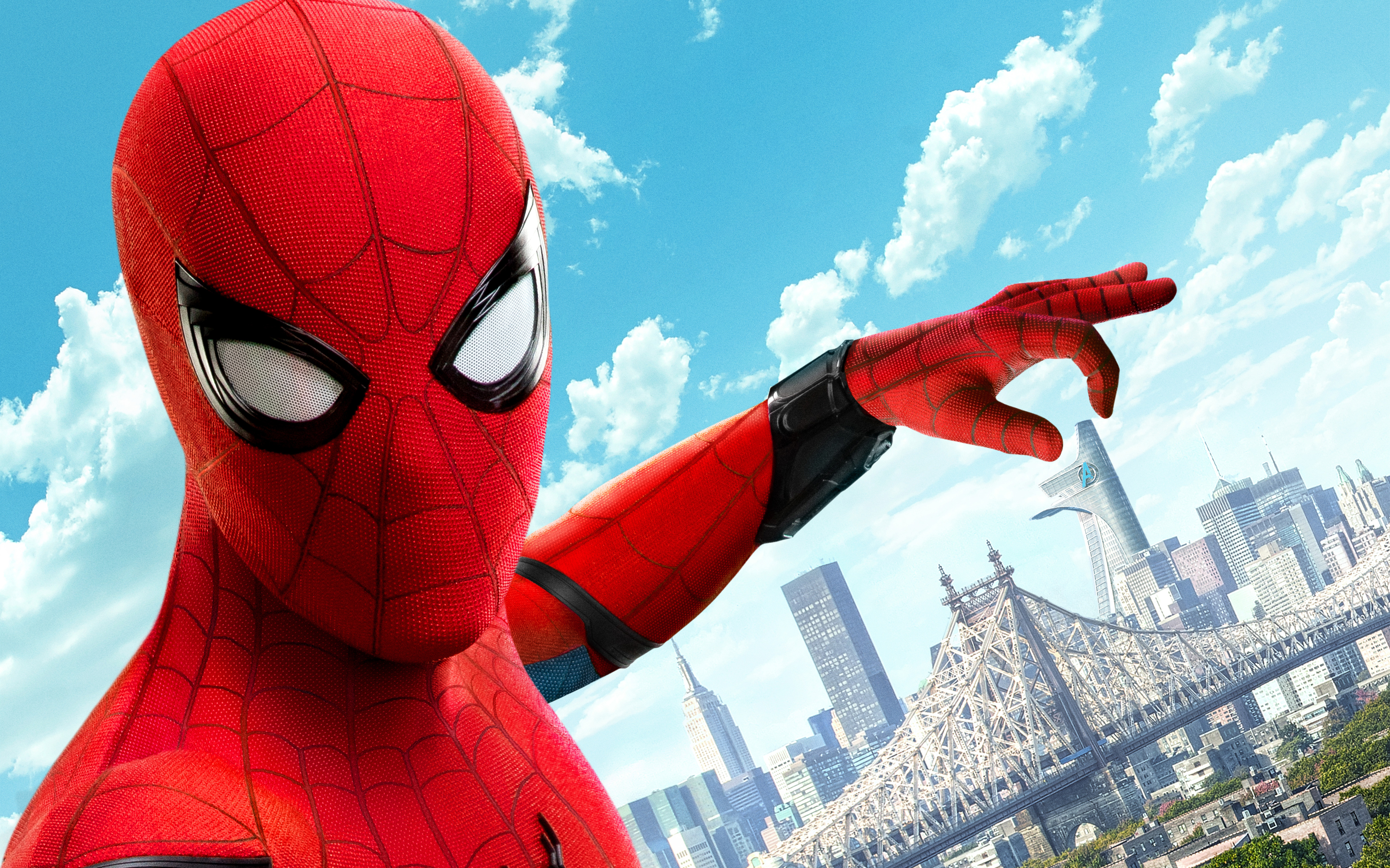 Человек-паук возвращение 8к. обои скачать