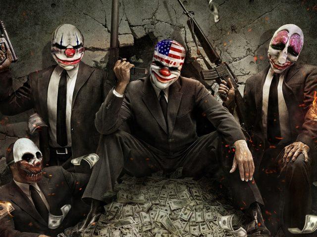 Payday 2,  бандиты,  деньги