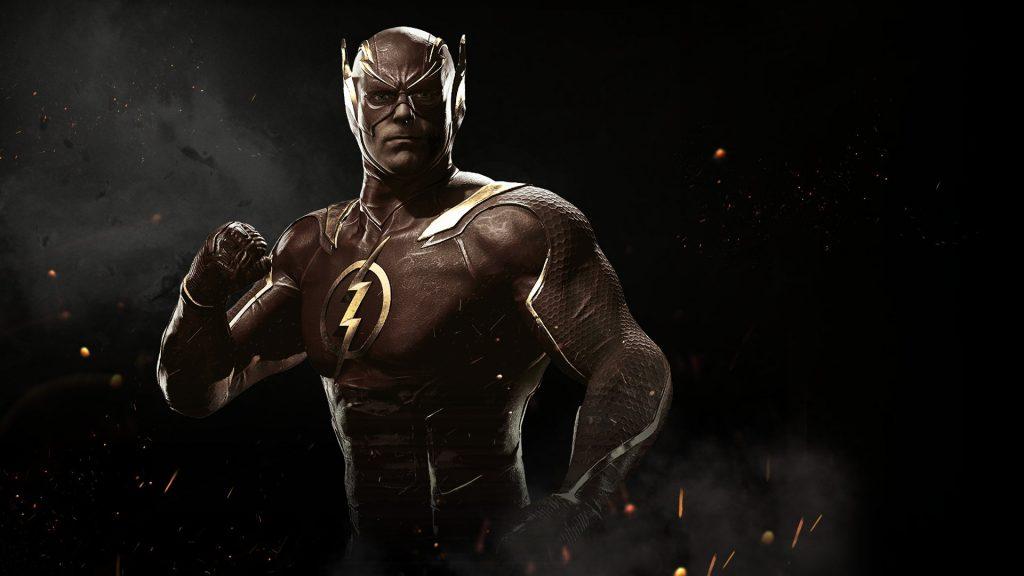 Flash in injustice 2. обои скачать