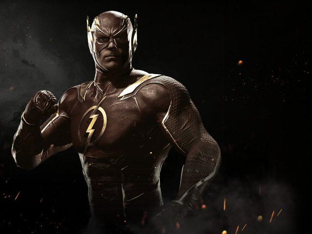 Flash in injustice 2.