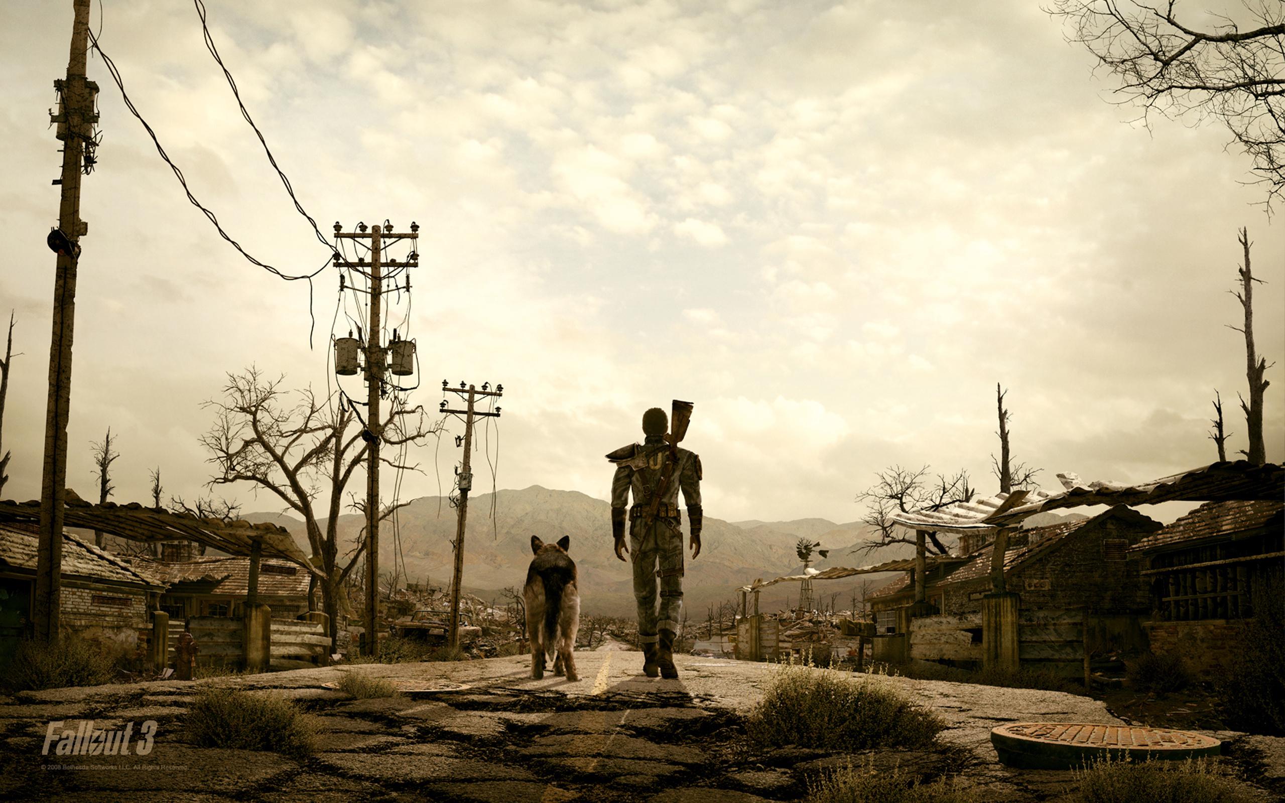 Fallout, 3, человек обои скачать
