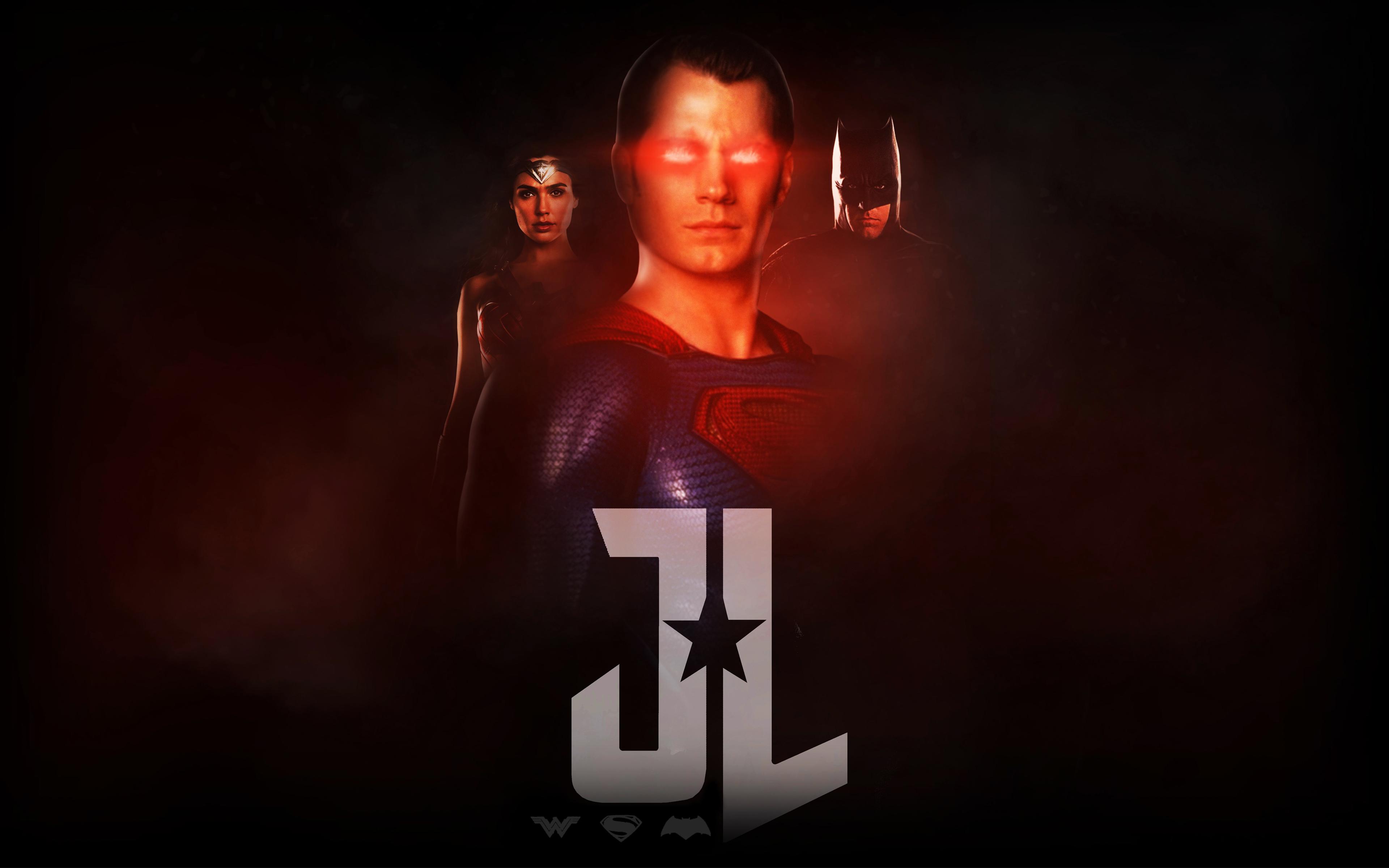 Лига справедливости чудо женщина супермен Бэтмен обои скачать
