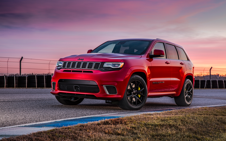 2018 jeep grand cherokee. обои скачать