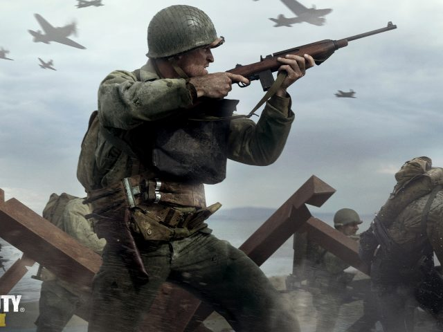 Call of duty wwii gameplay.