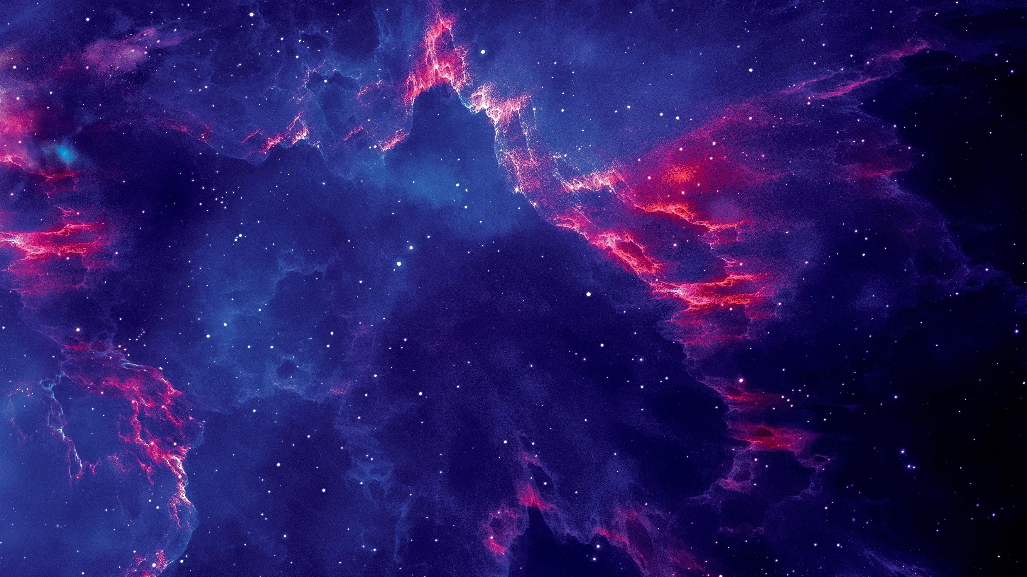 Звездная галактика обои скачать