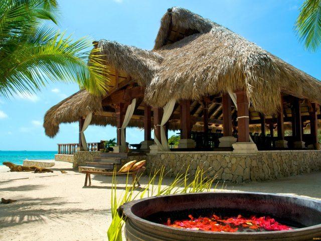 Багамы,  отдых,  пальмы,  песок