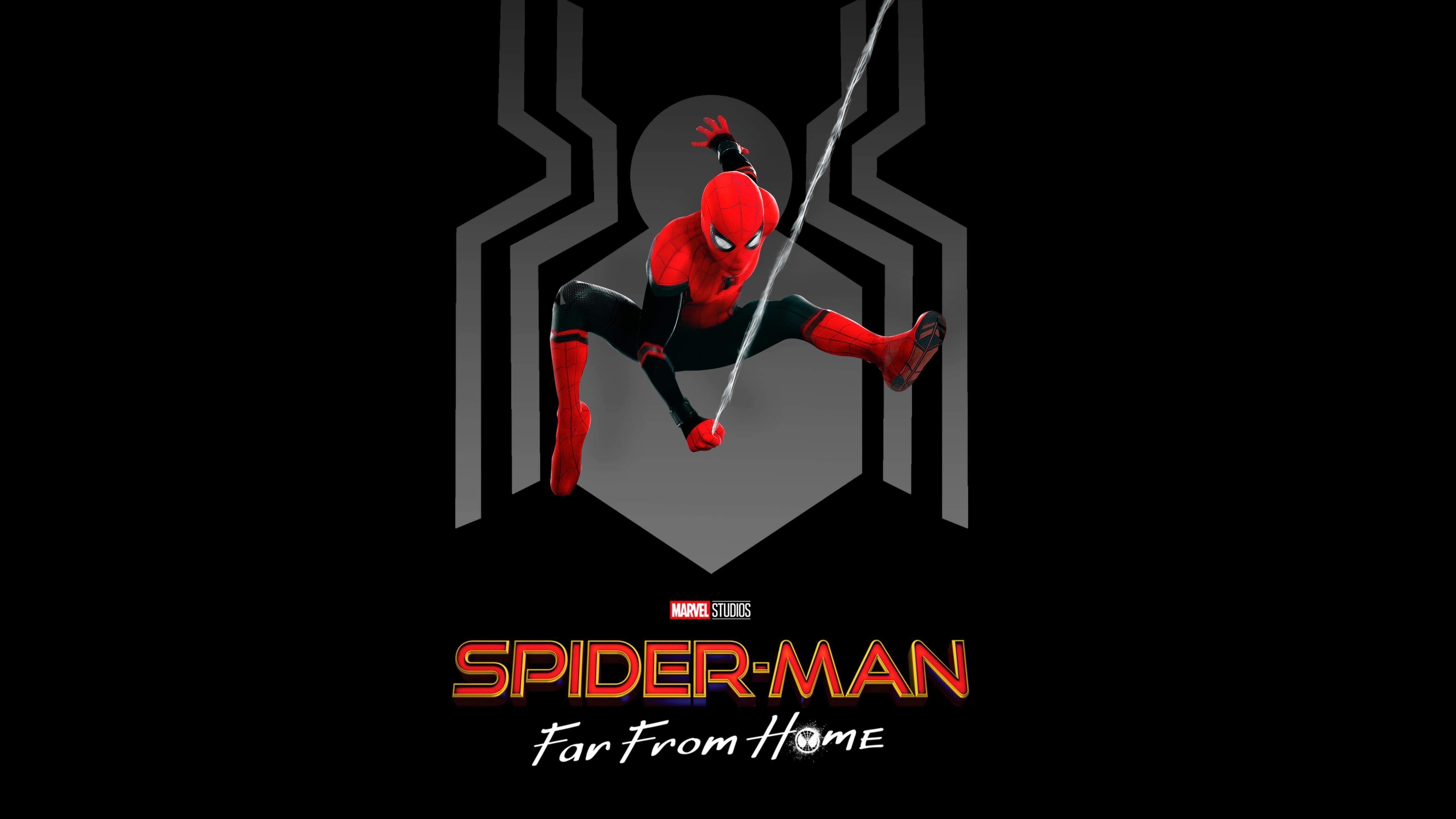 Человек-паук Вдали от дома обои скачать