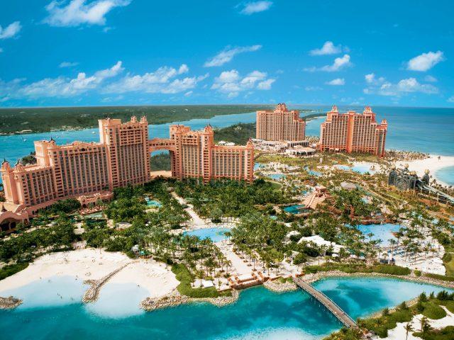 Bahamas,  Atlantis,  море,  отель