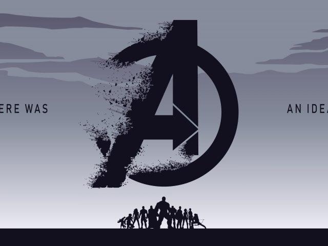 Мстители Эндшпиль минимальное произведение искусства