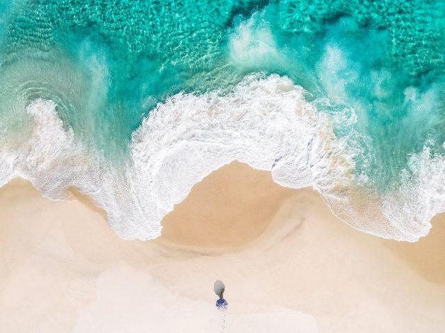 Пляж прошивкой 10 акций