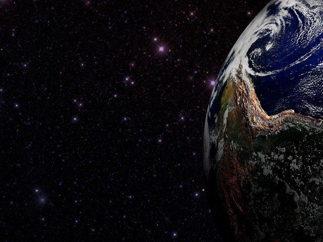 Космическое пространство планеты