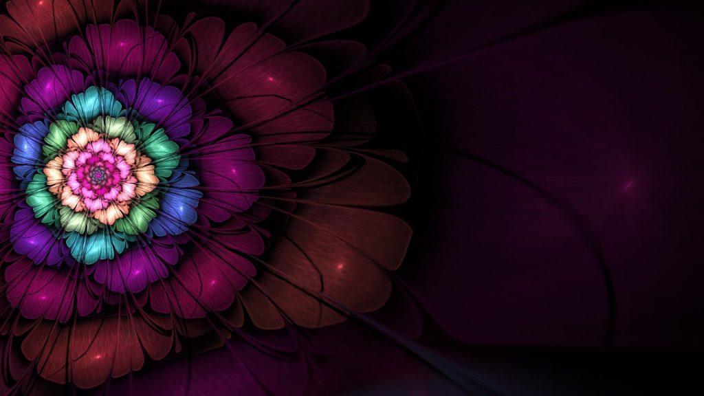 3d фрактальный апофиз цифровое искусство абстракция обои скачать