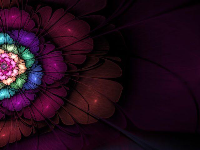 3d фрактальный апофиз цифровое искусство абстракция