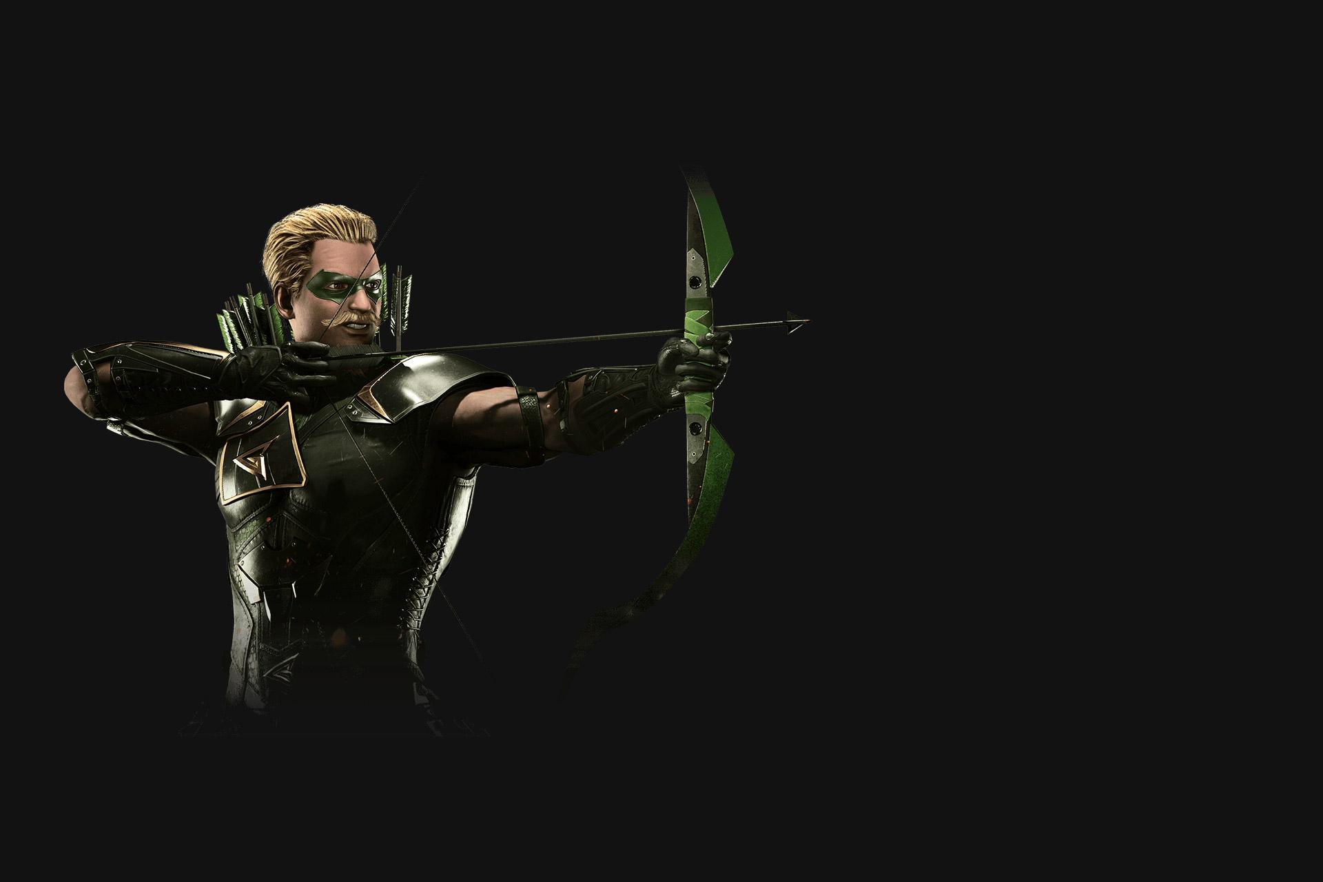 Injustice 2 arrow. обои скачать