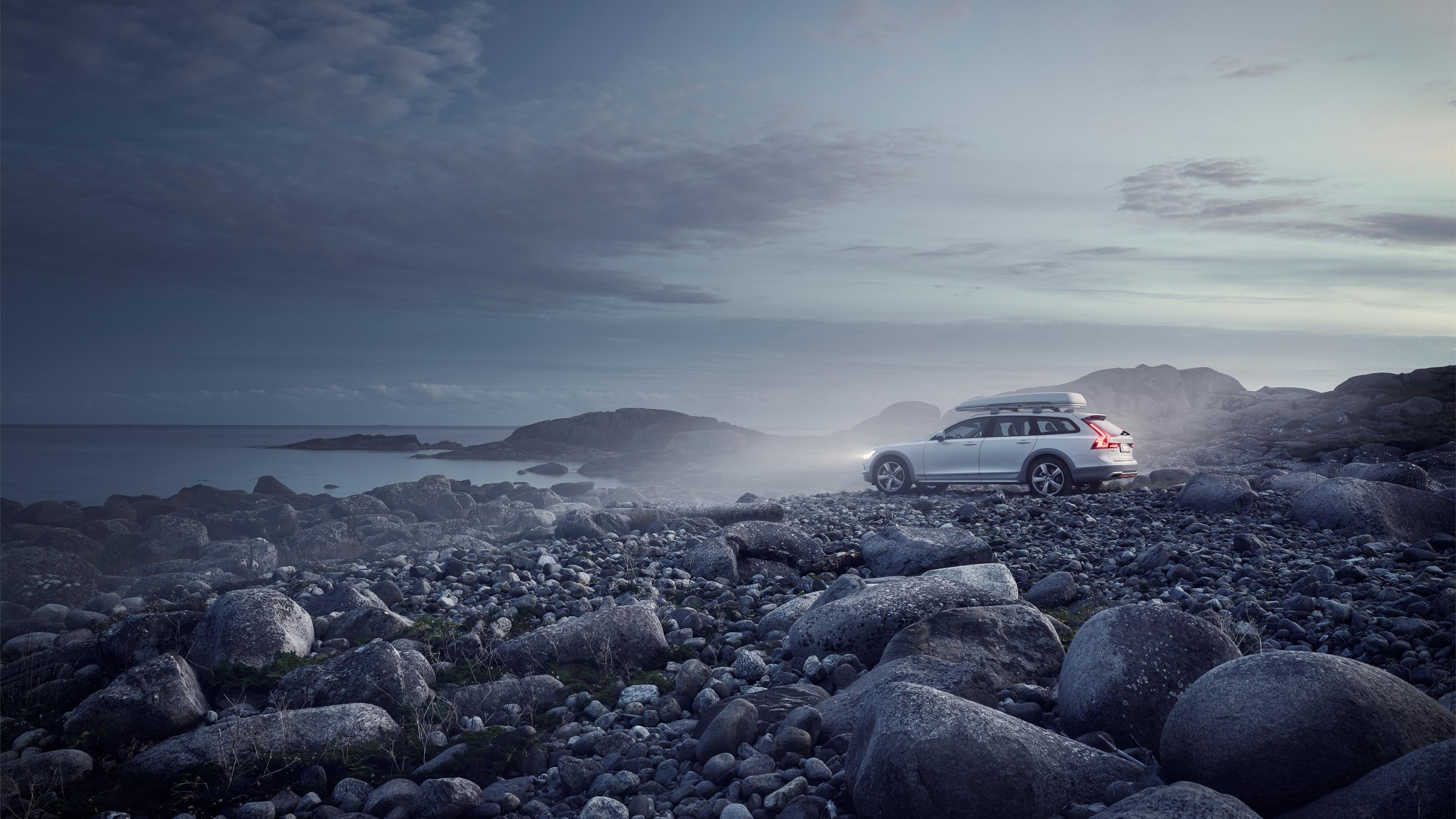 Volvo v90 T6 кросс-кантри океан гонки издание обои скачать