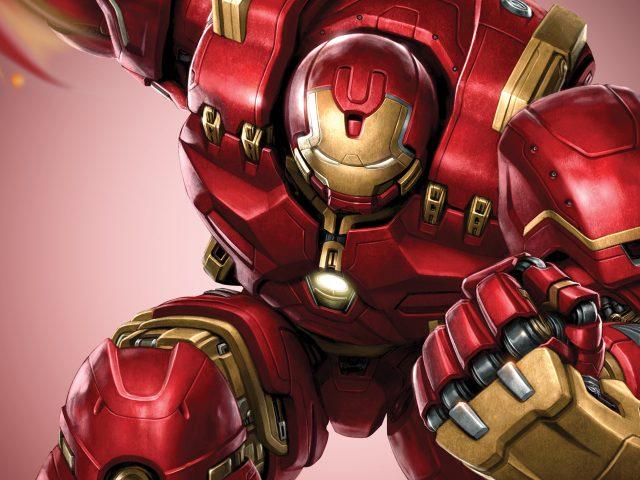 Железный Человек, Халк броня