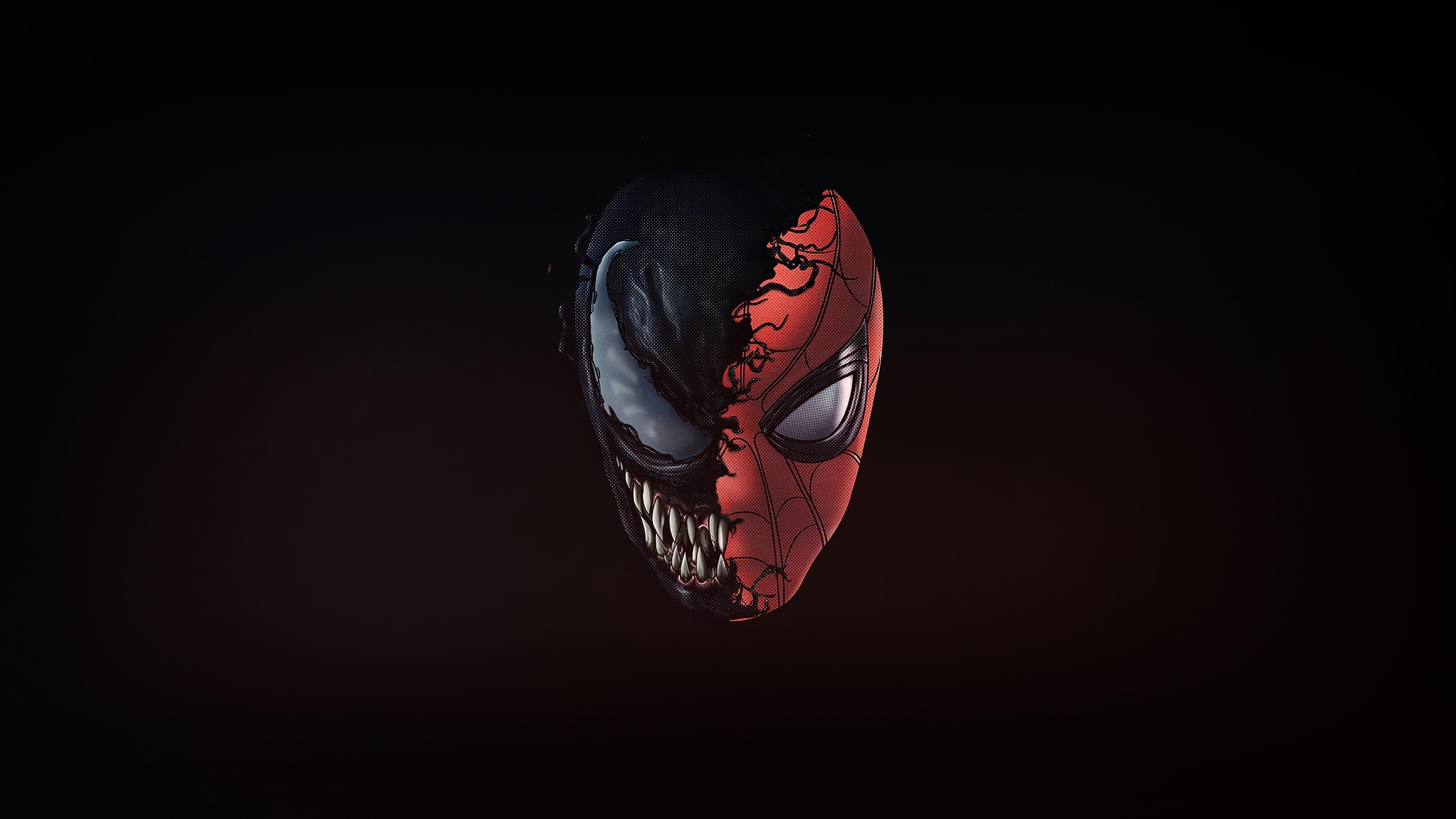Ядовитый человек-паук обои скачать