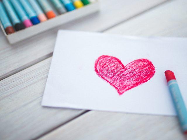 Любовь сердце эскиз.