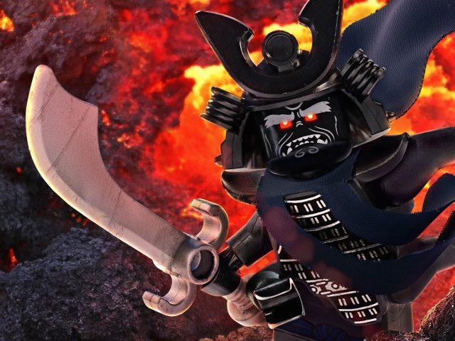 Гармадон быть победителем Лего ниндзяго
