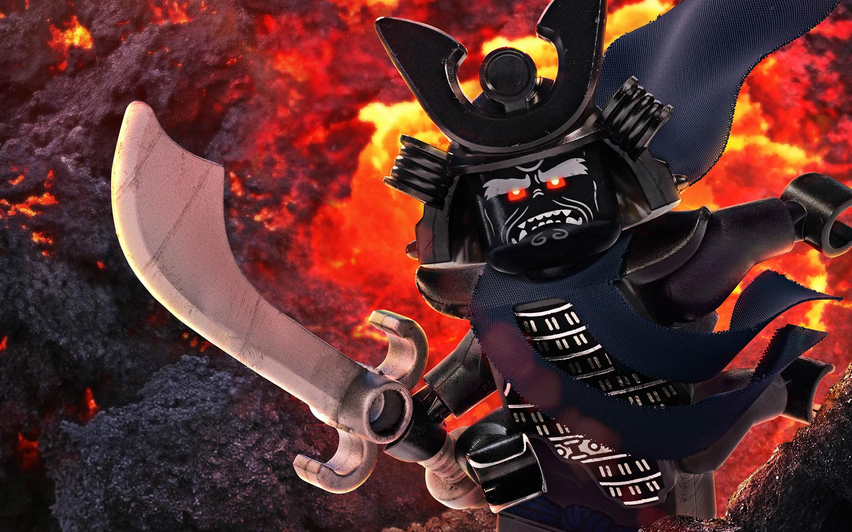 Гармадон быть победителем Лего ниндзяго обои скачать