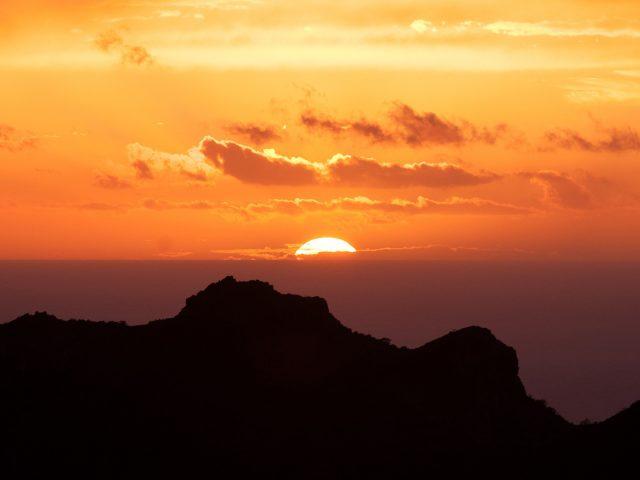 Канарские острова закат.