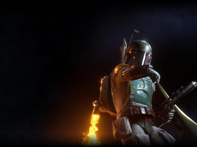 Боба Фетт звездные войны Battlefront II