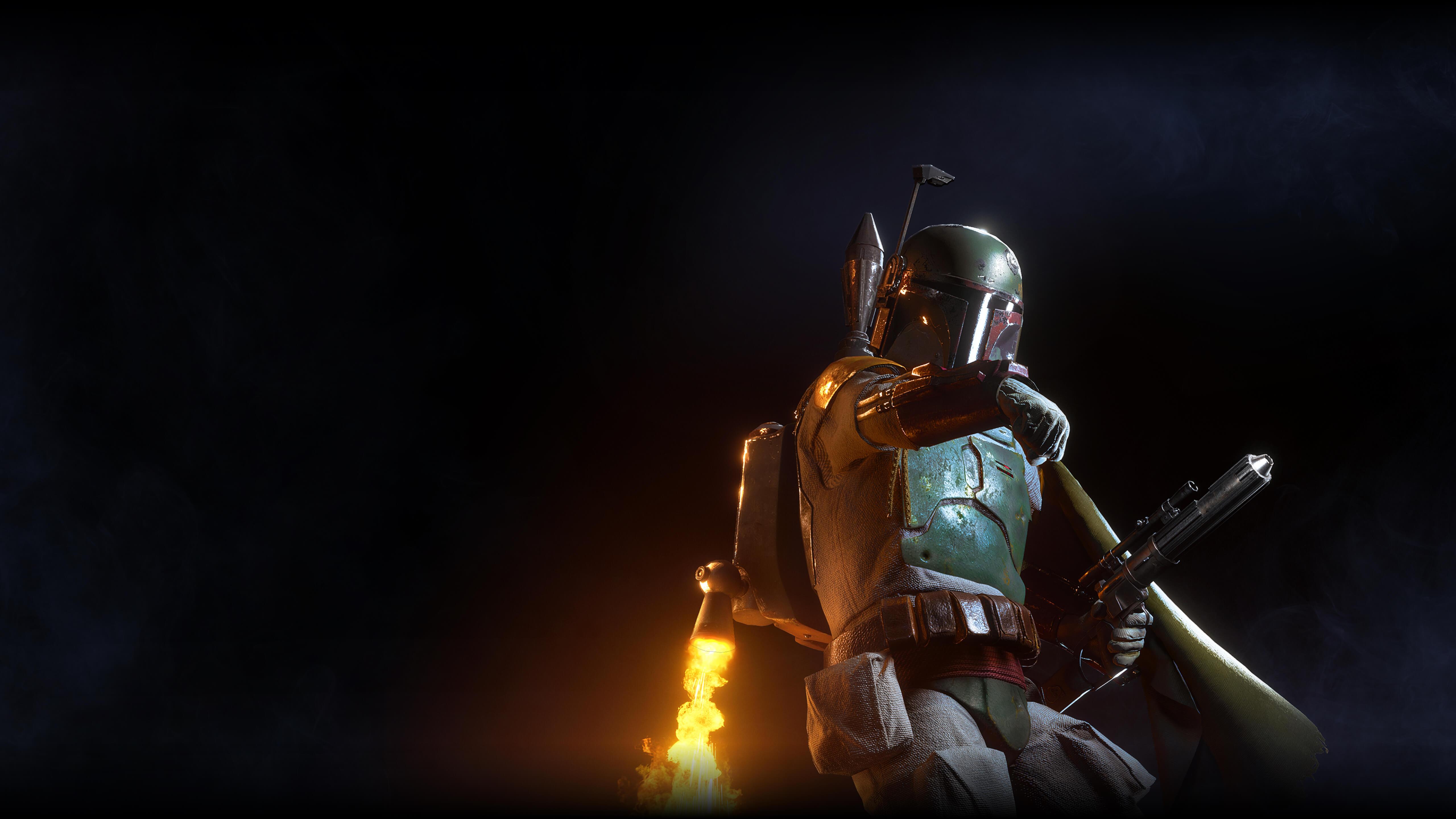 Боба Фетт звездные войны Battlefront II обои скачать