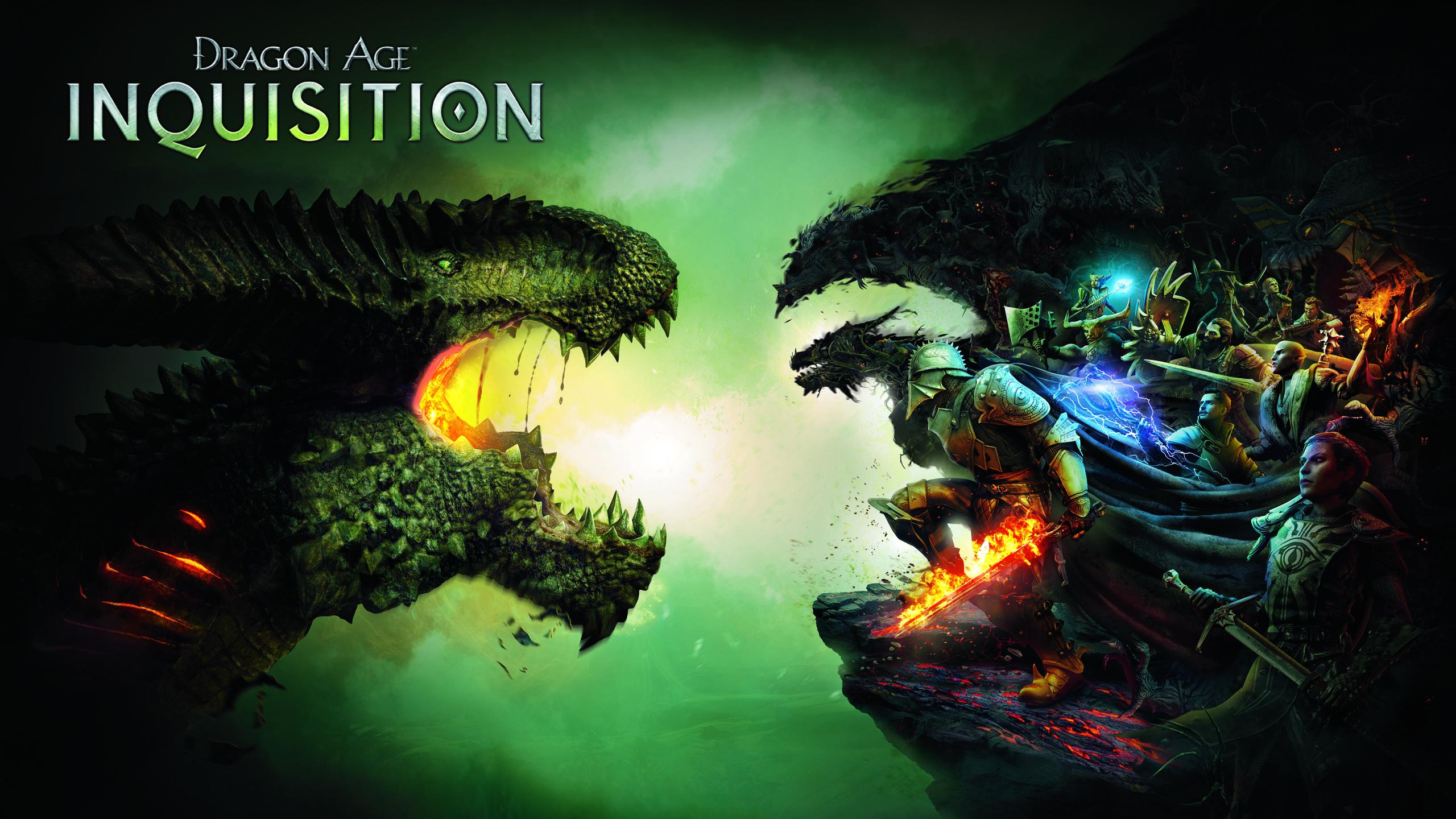 Игра Dragon возраст инквизиции. обои скачать
