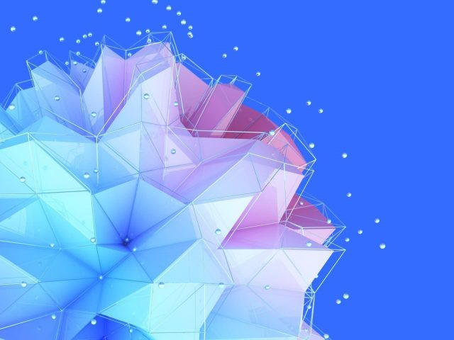 Геометрический шар htc u11 plus stock abstract