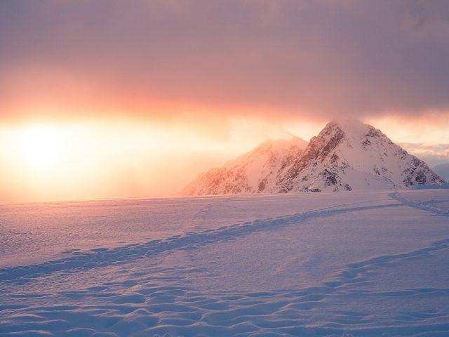 Восход зимы