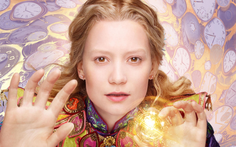 Алиса Кингсли-Алиса в Зазеркалье. обои скачать