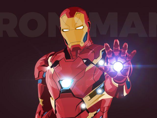 Железный человек CGI