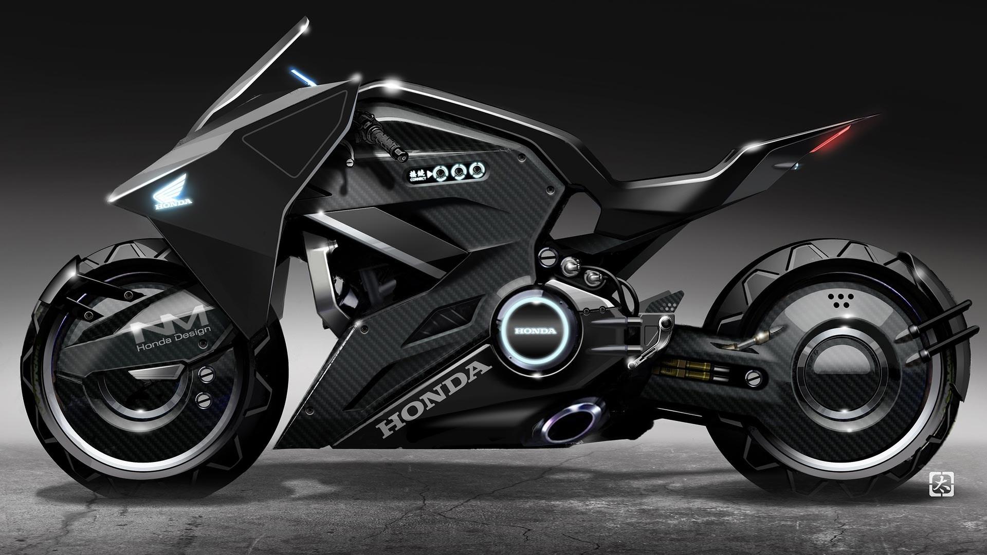 Хонда nm4 vultus специальных Призрак в доспехах. обои скачать