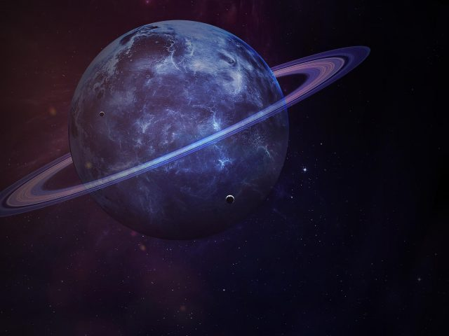 Сатурн планета темная