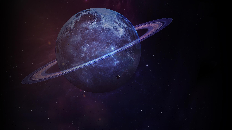 Сатурн планета темная обои скачать