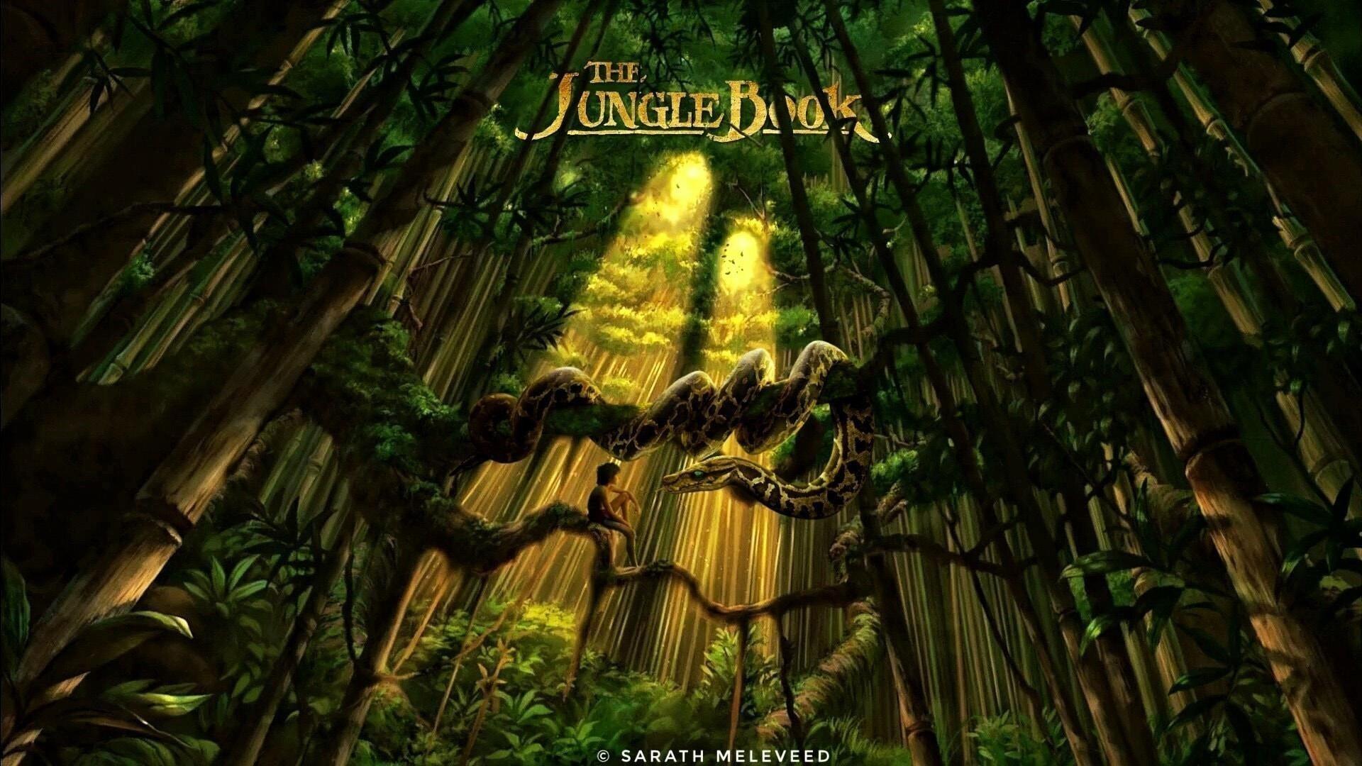 Книга джунглей обои скачать