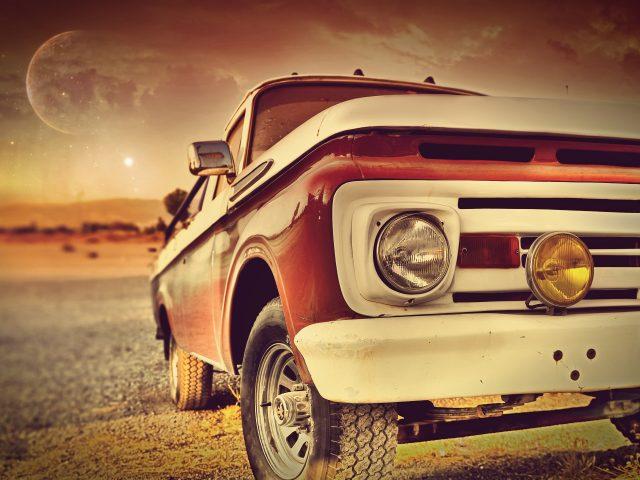 Старинных автомобилей.