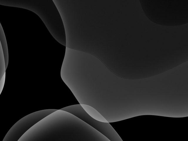 Ios 13 ipados темный режим черный