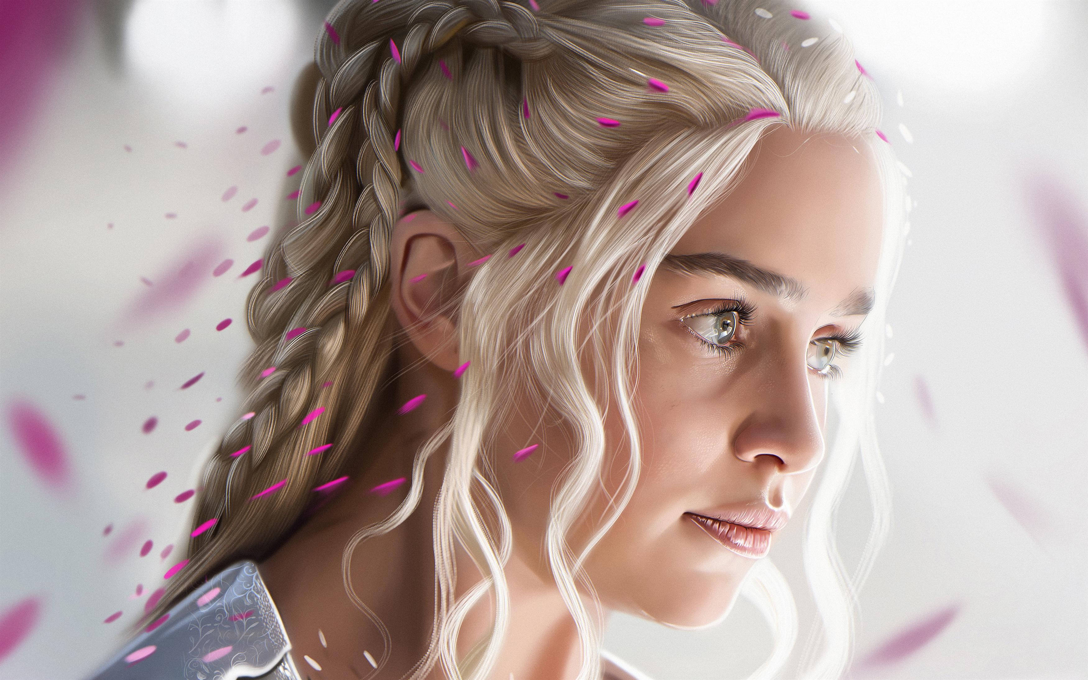 Художественное произведение Daenerys Targaryen обои скачать