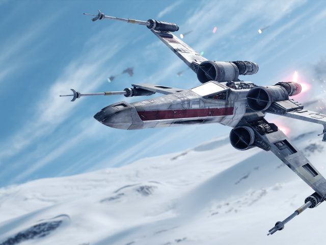 Звездные войны Battlefront реактивный истребитель.