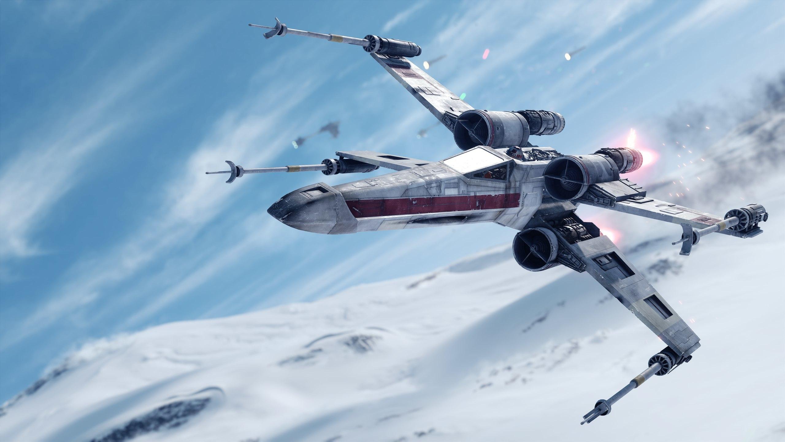 Звездные войны Battlefront реактивный истребитель. обои скачать