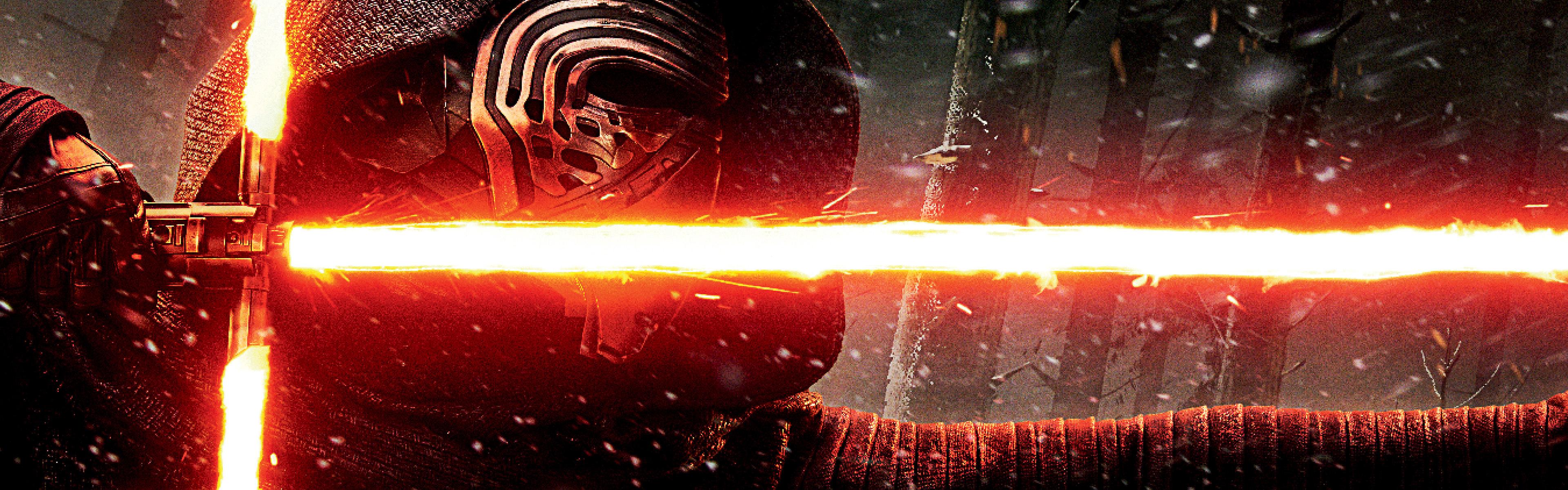 Кайло-kylo РЕН усилие FX световой меч. обои скачать