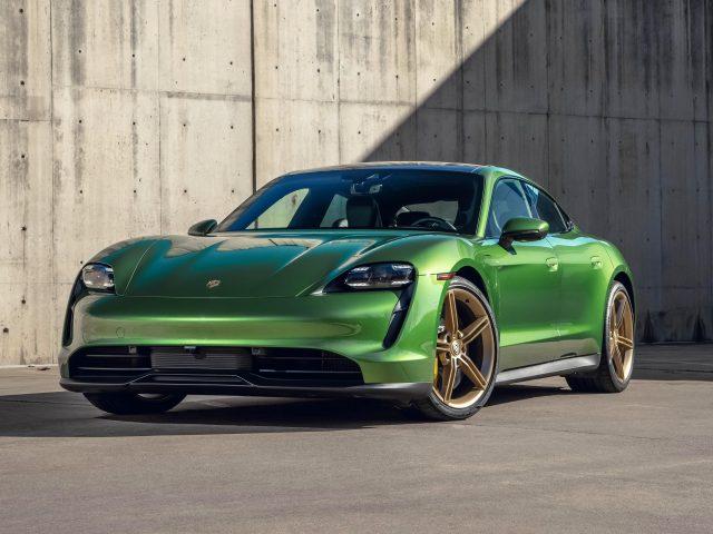Porsche taycan 4s 2021 2 автомобиля