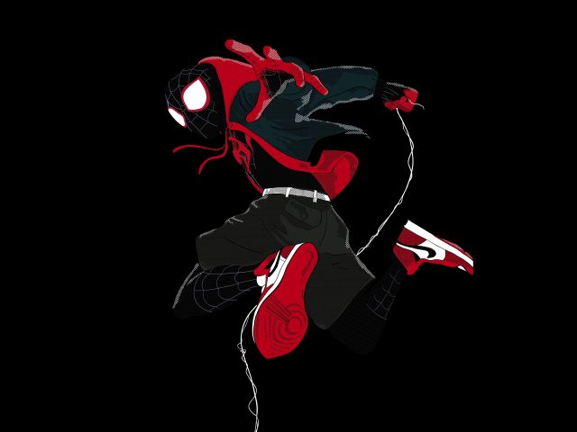 Майлз Моралес в «Человеке-пауке» в «паучьем стихе»
