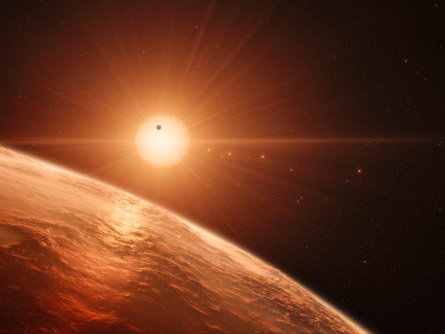 Траппист 1 планета 8к.