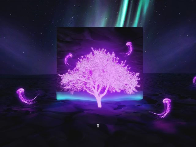 Неоновые медузы дерева